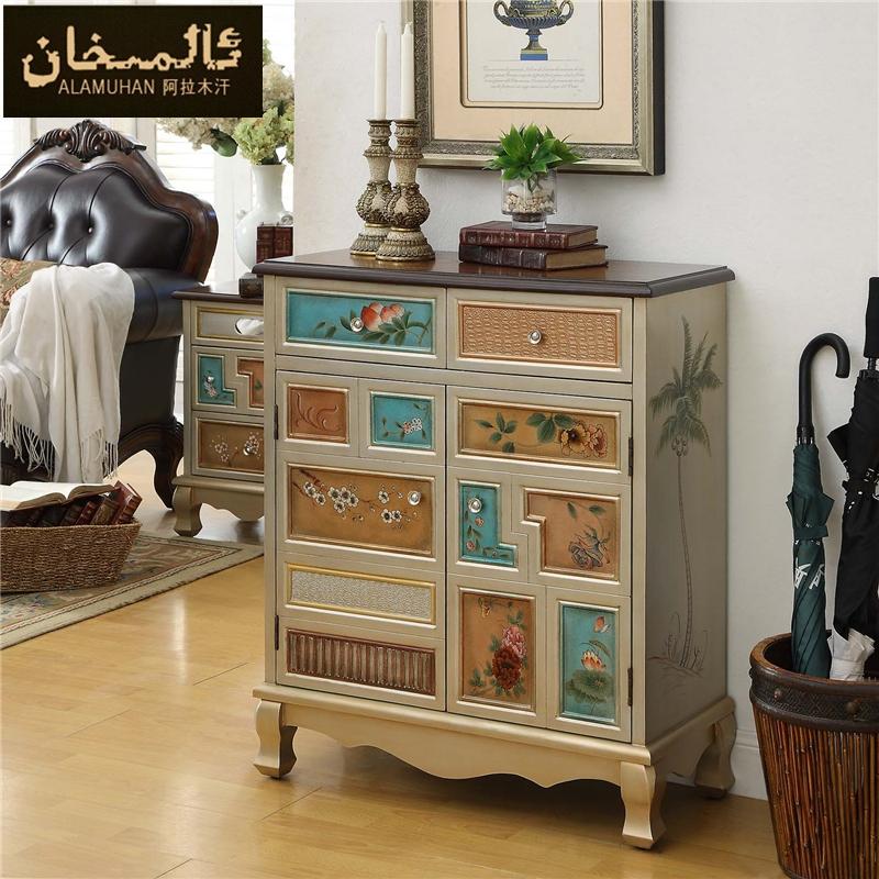 ems frei modern vintage eingang schuhschrank wohnzimmer m bel seite schuhroste arche in aus. Black Bedroom Furniture Sets. Home Design Ideas