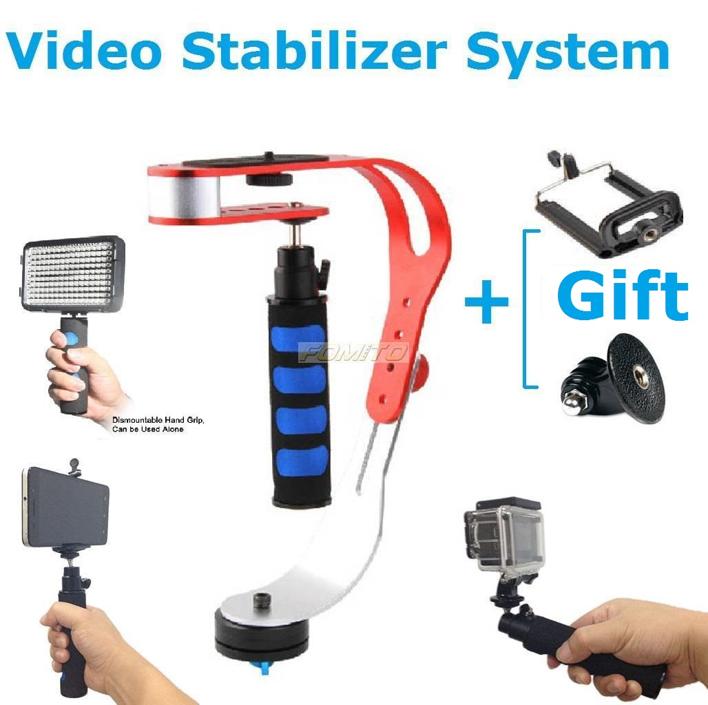 NEW Professional Video Steadycam Stabilizer System For Camera Camcorders DSLR