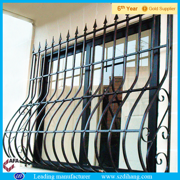Wrought Iron Window Grill Design / Decorative Wrought Iron