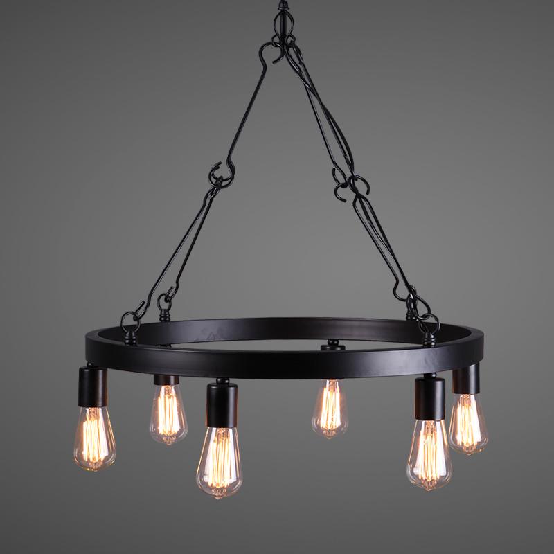 Chandelier Tieyi Lighting Western Style Lamp Simple Living
