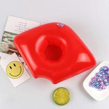 Мини милые забавные игрушки красный Фламинго Плавающий надувной держатель для напитков Плавательный Бассейн Купальный пляж вечерние детс...(Китай)
