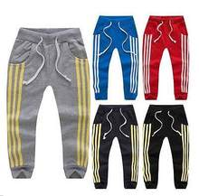Kids Toddler Boys Girls Leisure Casual Joggers Track Pants Sport Trousers 2 7Y