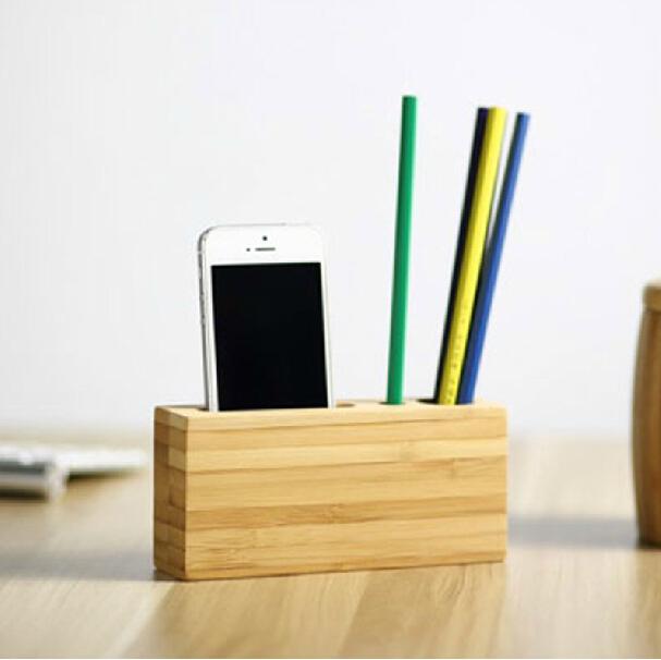 Original Design Creative Handmade Bamboo Wood Brief Pen