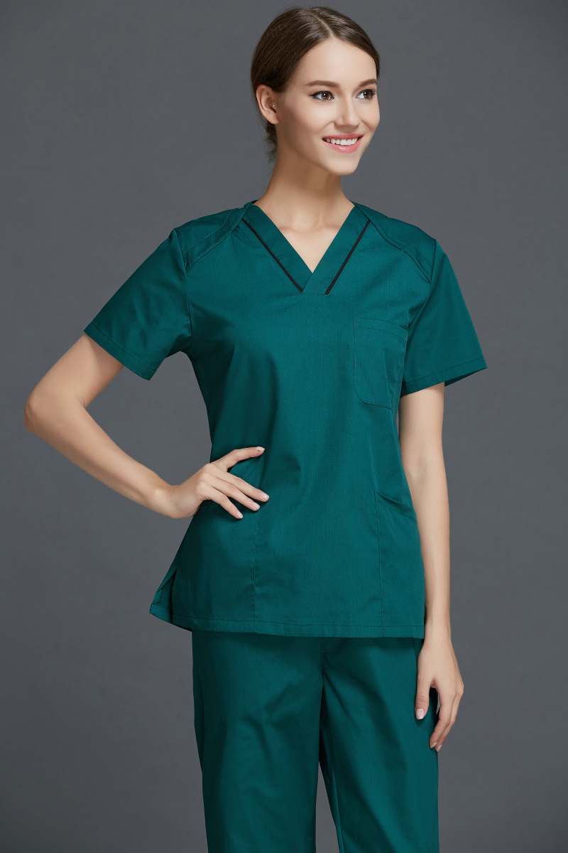 Popular spa clothes buy cheap spa clothes lots from china for Spa uniform patterns