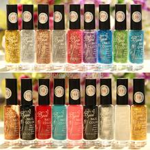 Popular BGIRL Glitter Flower Nail Polish 4Pcs Lot Strokes Pull Formosa French Manicure Nail Polish Pen