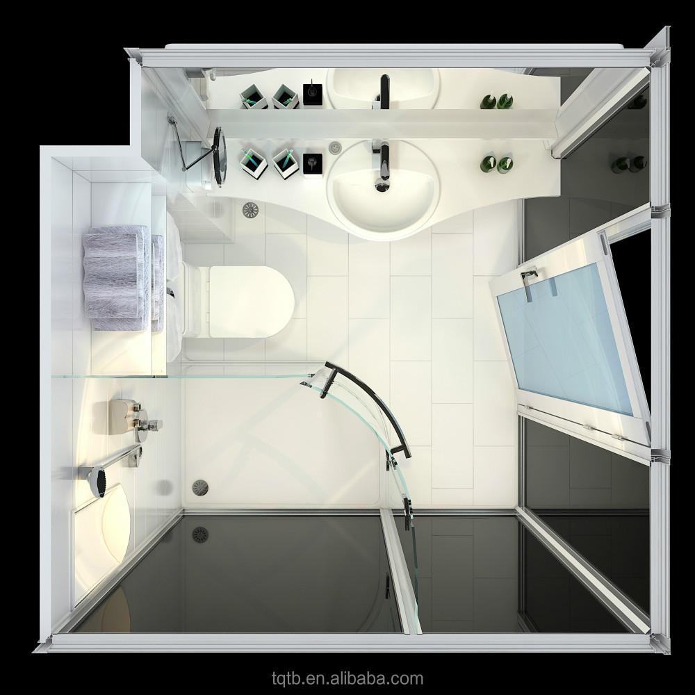 Prefabricated Bathroom Modular Bathroom Unit Bathroom