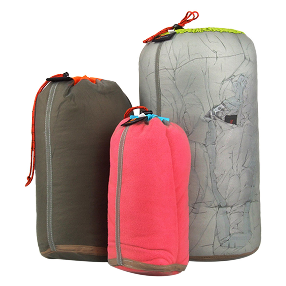 2daa7e907dde Ultralight Drawstring Mesh Stuff Sack Storage Outdoor Bag for Tavelling  Camping Hike Climbing Laundry Cloth Pouch Travel Kits
