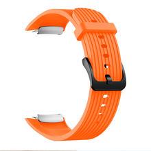 Спортивные часы для Samsung Gear Fit2 Pro, Роскошные Силиконовые Ремешки для наручных часов для Samsung Gear, подходят для браслетов 2 SM-R360(Китай)