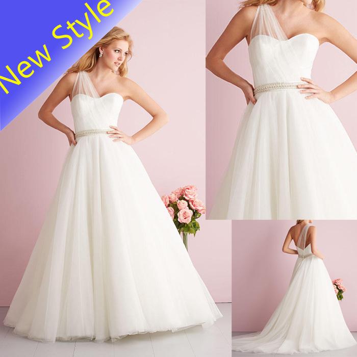 Popular Plain Simple Wedding Dresses-Buy Cheap Plain