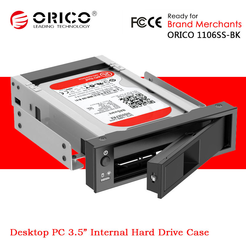 ORICO 1106SS 3.5'' SATA Mobile CD ROM Space HDD Storage ...
