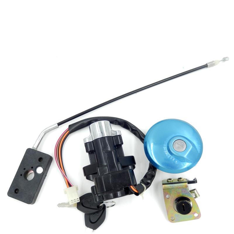 Замок практическая ZincAlloy12V напряжения для SUZUKI тип автомобиля мотоциклов и части замки и защелки оптовая продажа YD1007