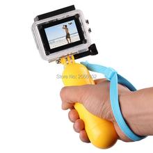 For Gopro Bobber Floating Floaty Hand Grip with Wrist Strap For Xiaoyi Gopro Hero 4 3 SJCAM SJ4000 SJ5000 SJ6000 Action Camera