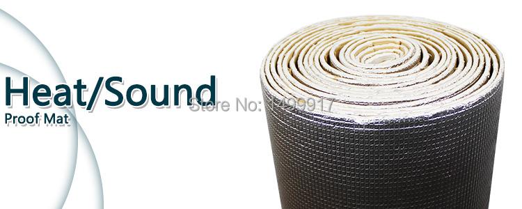 Heat Insulation: Automotive Heat Insulation Mat