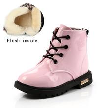 Осенне-зимняя детская обувь, классические детские ботинки, обувь для маленьких мальчиков и девочек, зимние сапоги, непромокаемые сапоги из ...(Китай)