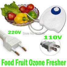 400mg/h 220V Food Ozone Generator Water Air Sterilizer Ozone Purifier Original Packing Free Shipping