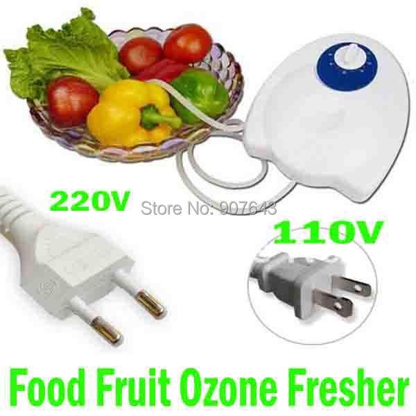 Portable 400mg h 20W Fruit Vegetables Food Ozone Generator Water Air Sterilizer Ozone Purifier Ozonizer home
