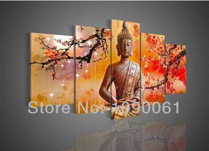 Hand Painted Modern Abstract Wall Home Decor Oil Painting