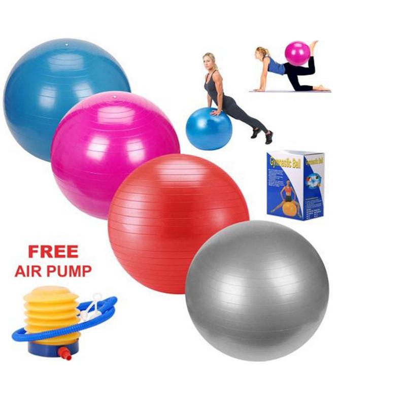 Balance Ball For Weight Loss: Tiling 65cm Anti Burst Gym Exercise Yoga Fitness Ball