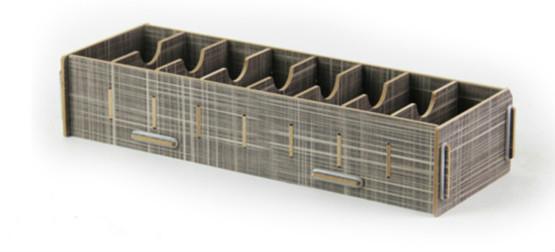 Креативные настольные держатели для карт, коробка для хранения визиток, деревянные держатели для банкнот, коробка для карт, органайзер для ...(Китай)