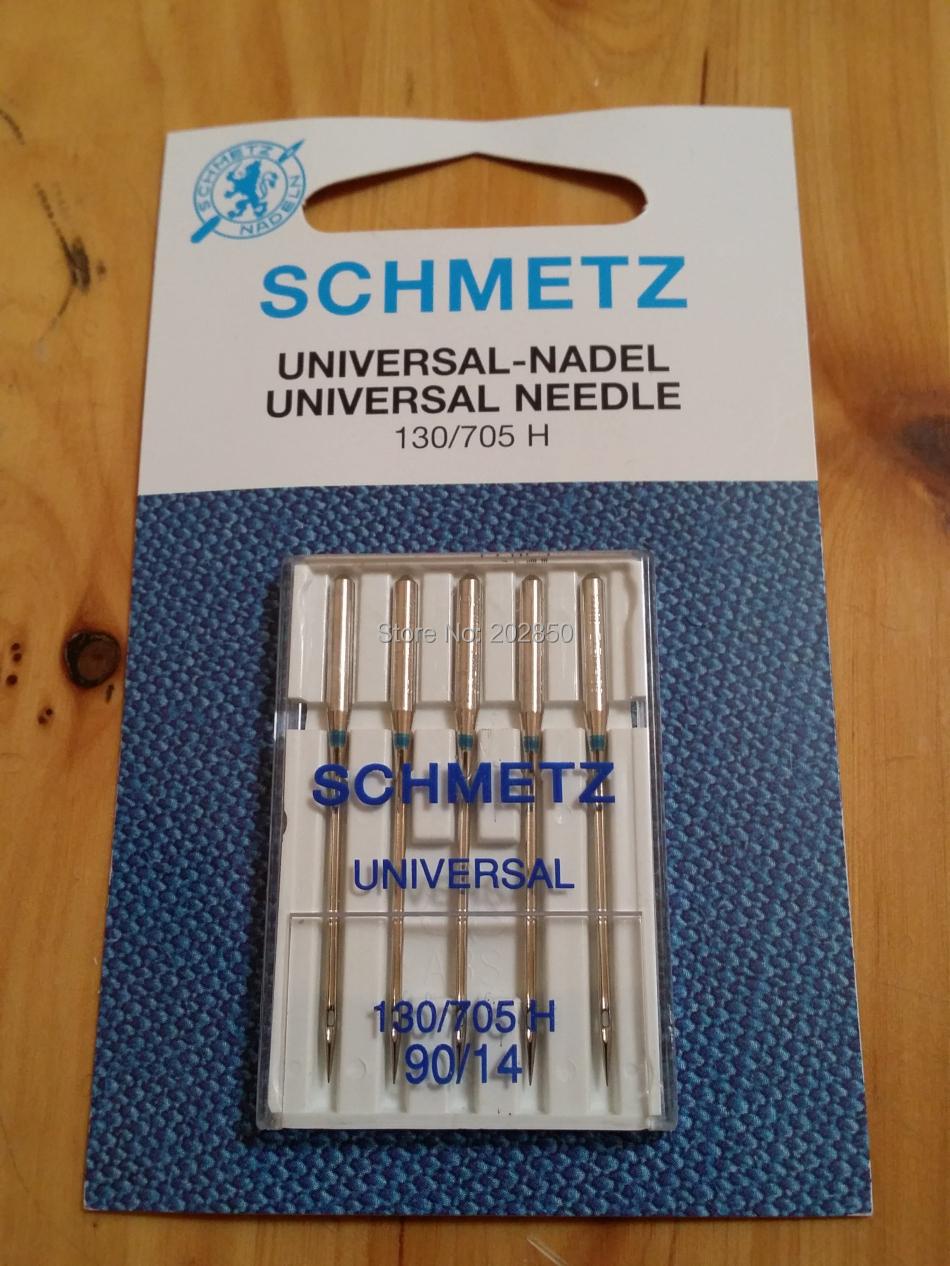 SCHMETZ-UNIVERSAL-Needle-130-705-H-Size-90-14-5Pcs-Lot