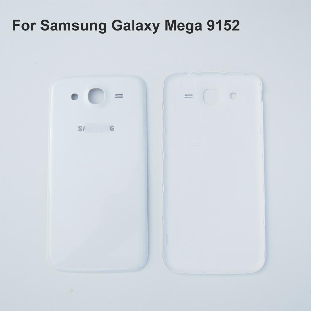 Белый 100% новый и оригинальная крышка аккумулятор назад чехол для SAMSUNG Galaxy Mega 5.8 I9150 I9152 крышку корпуса