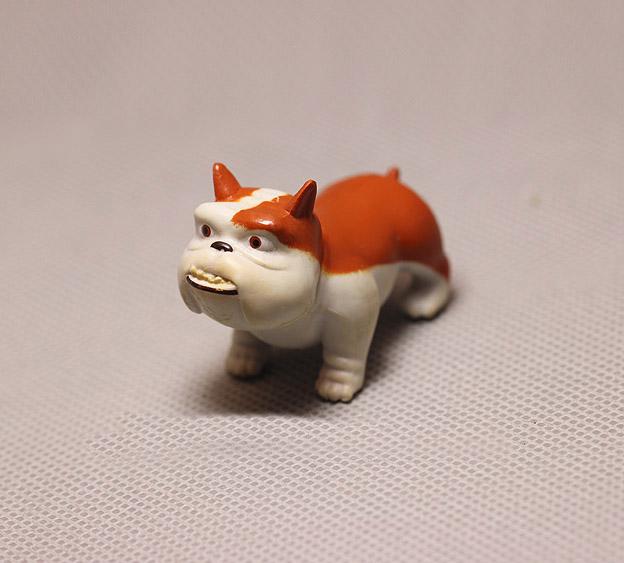 Anime Home British Bulldog  Resin English bull dog figure Home Office Decoration Lovely Bulldog Gift toy