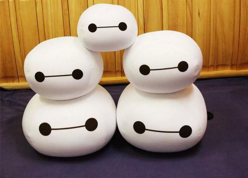 30 cm Weiße BIG HERO 6 BAYMAX ROBOTER Plüsch Stofftier Puppen Kinder Geschenk