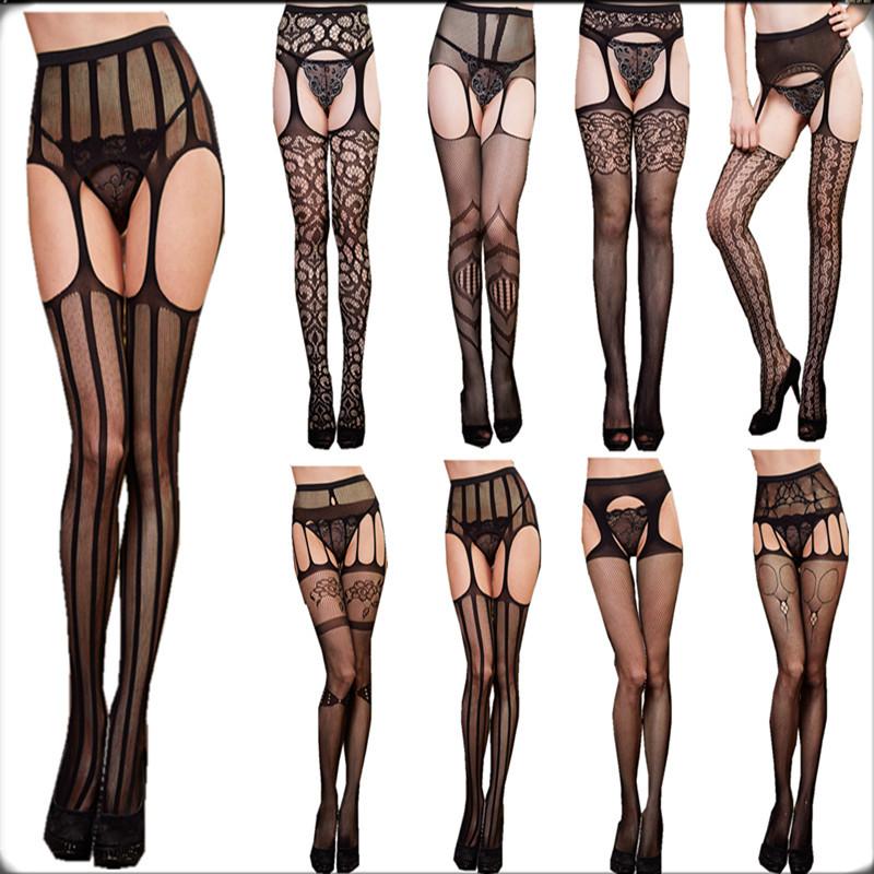 Women Wearing Tight Panties Stockings Garter Belt 105