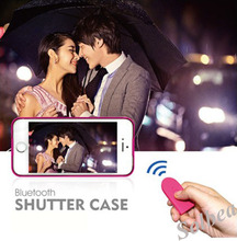 1pcs Wireless Bluetooth Camera Selfie Photo Shutter Release Self Timer Case for iPhone 5 5S Shutter Case free shipping freetrack