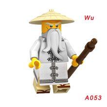 1 шт. A035 Chap'Rai Wu Samukai строительные блоки Ultra Vlolet Hutchins Skylor Bytar Pythor Master Of Golden Dragon Lloyd Jay Zane(Китай)