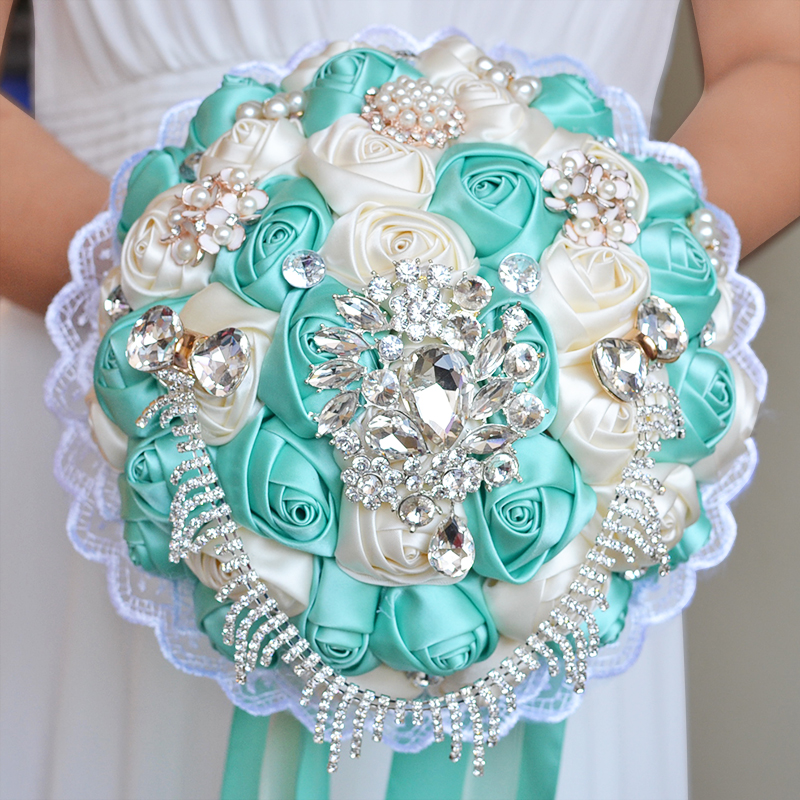 Wedding Flower Bouquets Prices: Compare Prices On Turquoise Wedding Flowers- Online