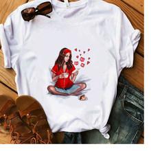 Футболка Weekend из 100% хлопка, белая футболка с принтом для девушек, летние Супермягкие повседневные женские топы, хипстерские астетические тр...(Китай)