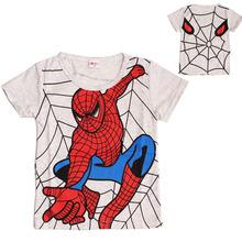 Klučičí tričko s potiskem Spidermana z Aliexpress