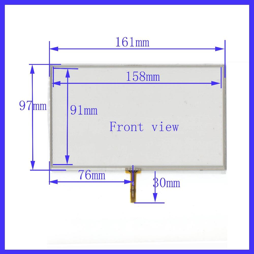 ZhiYuSun FOR HD X10 X20 Palm Micro T10 X30 Touch Screen GPS Navigator  Display 162*97 E Road Navigation 7 Inch Touch Screen Screen Lcd Small Lcd  Screen