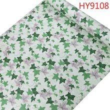 Контактная бумага 3D зеленая лоза листья цветок природа фон Декор ПВХ бумага виниловая самоклеющаяся настенная бумага рулоны Размер 0,45 М * 10 ...(Китай)