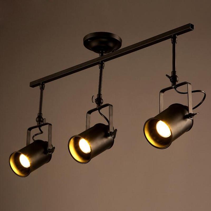 Floor Track Lighting: Ceiling Lights Spot Light Track Light LED Wall Lamp Loft