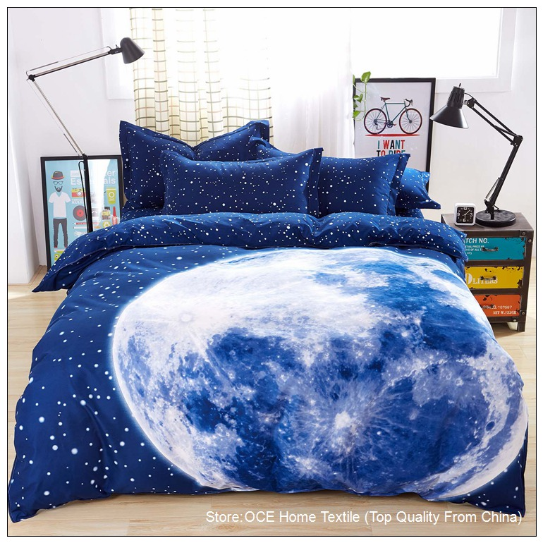 planet and moons comforter - photo #37