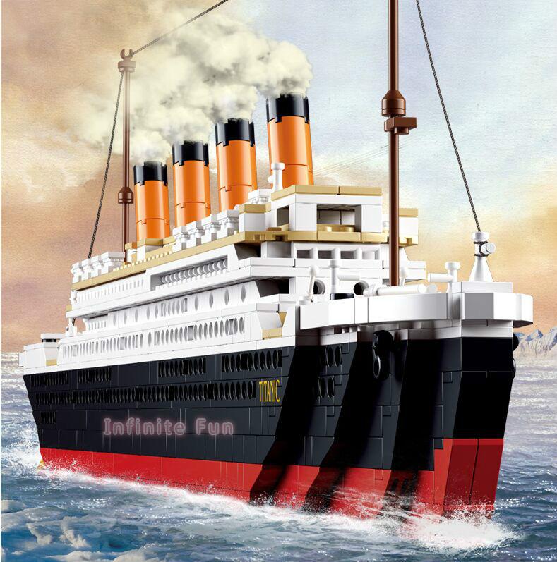Titanic Ship Toys 12