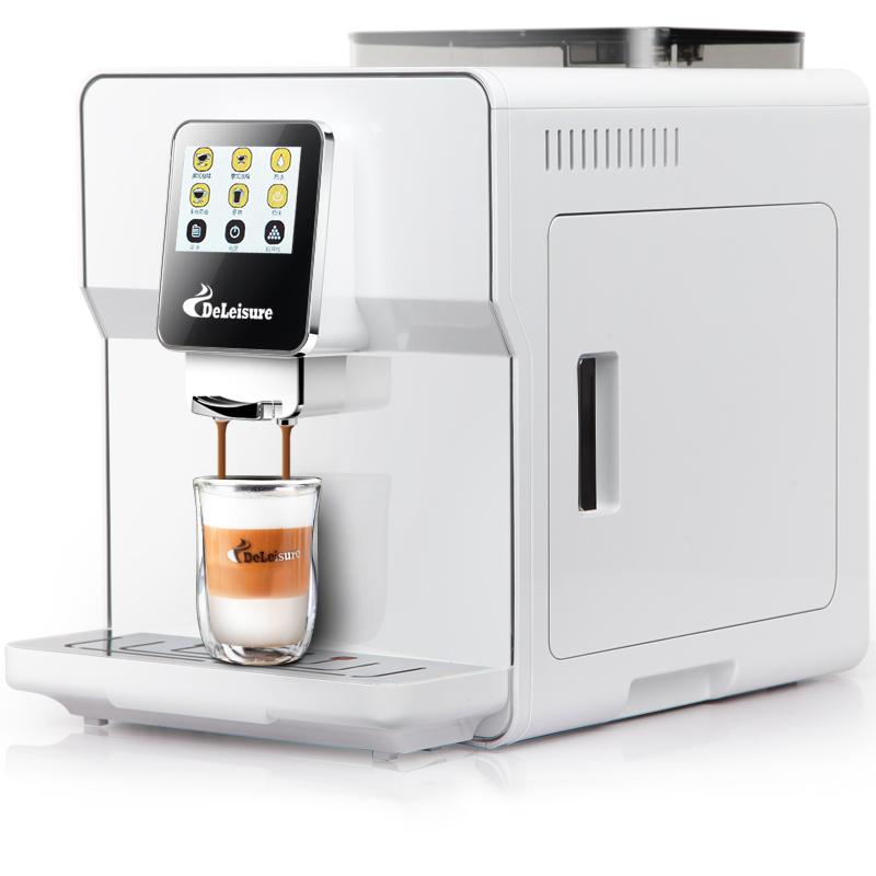 Сенсорный экран, одна кнопка, кофемашина, бытовая, офисная, полностью автоматическая, коммерческое использование, высокое давление, итальян...(Китай)