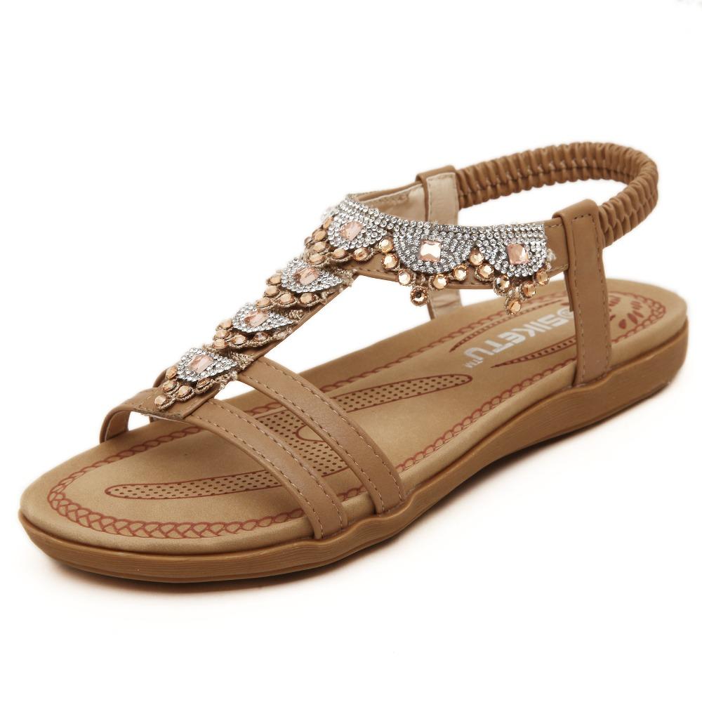Fashion women sandals summer shoes sandalia rasteirinha ...