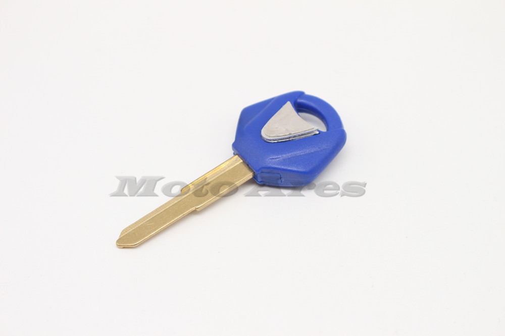 Пустой нерасщепленной ключевых листья YZF R1 R6 FZ1 FZ4 FZ6 FZ8 XJ6 FJR мотоцикл пустой ключ стеклоочистителя синий