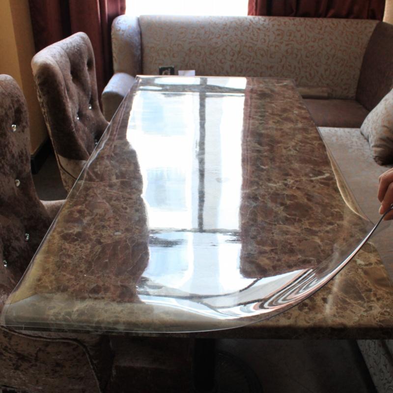 achetez en gros clear pvc tablecloth en ligne des grossistes clear pvc tablecloth chinois. Black Bedroom Furniture Sets. Home Design Ideas