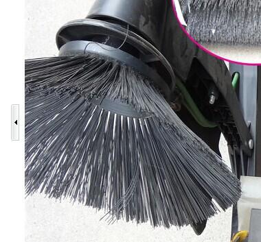 Power Lawn Bristle Broom Gas Powered Broom Sweeper Power
