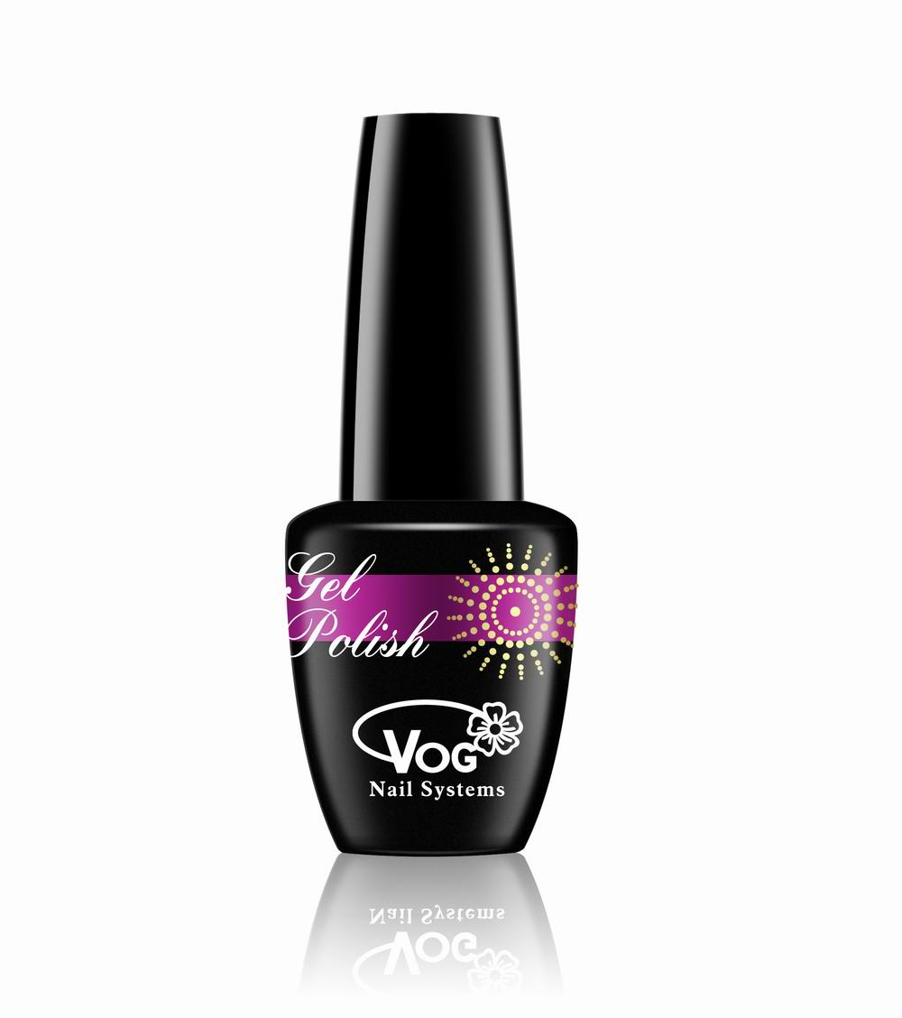 Free shipping 6pcs VOG fashion color LED gel polish 15ml 268 shining colors for choice