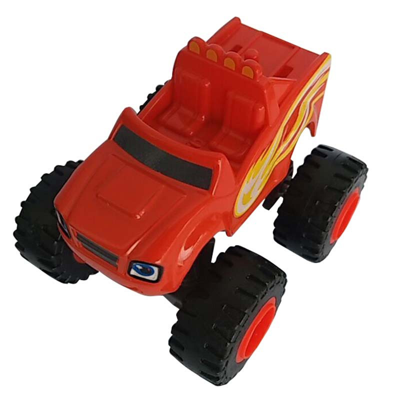 Blaze Monster Machines Toys Vehicle Car Pickle Zeg Darrington Crusher Stripes Original Box Best Gifts For