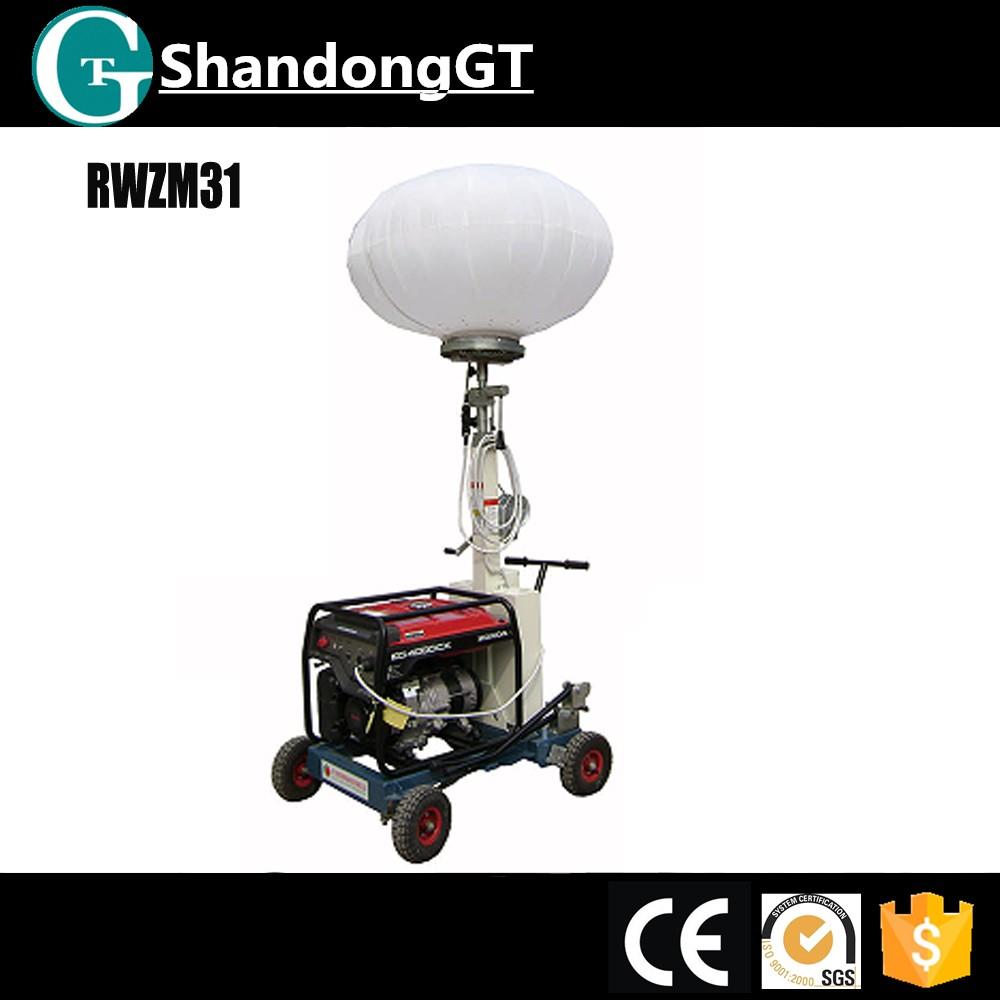 Honda Gasoline Generator Light Tower Mobile Balloon