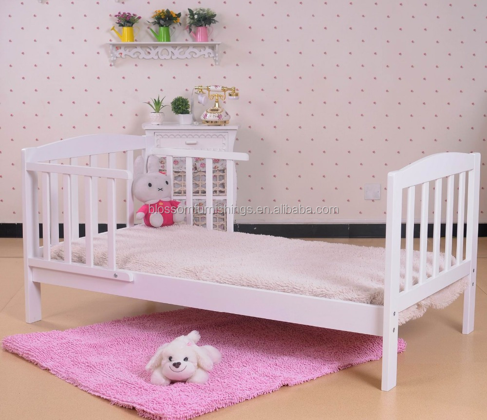 Cheap Wooden Baby Toddler Bed In Pine Wood Buy Solid