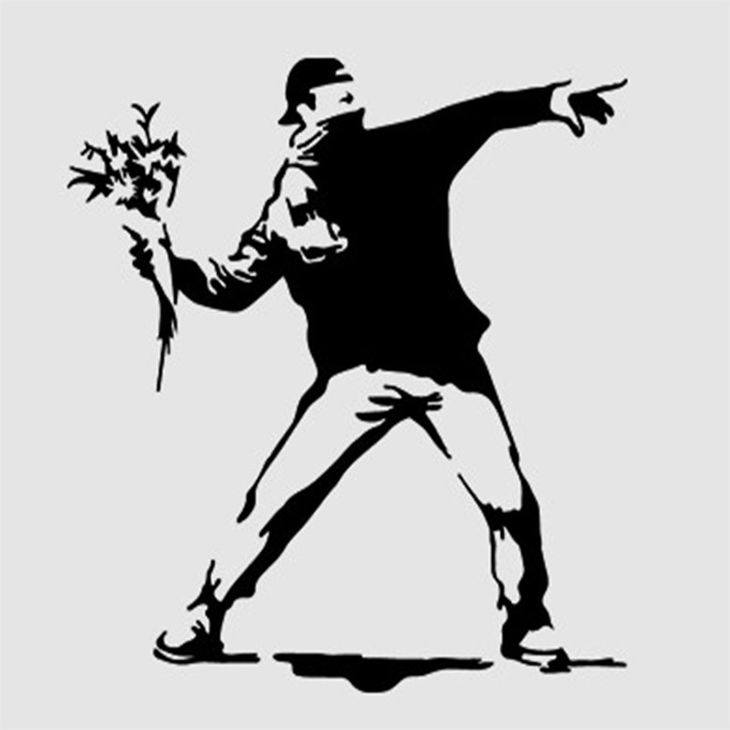 Online Get Cheap Banksy Graffiti Wallpaper Aliexpress Com