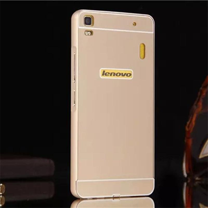 new arrival 12b6f 631a3 lenovo k3 note case,alumium metal frame and pc back cover luxury hard case  for lenovo lemon k50-t5 k50 t5 5.5 inch case hot