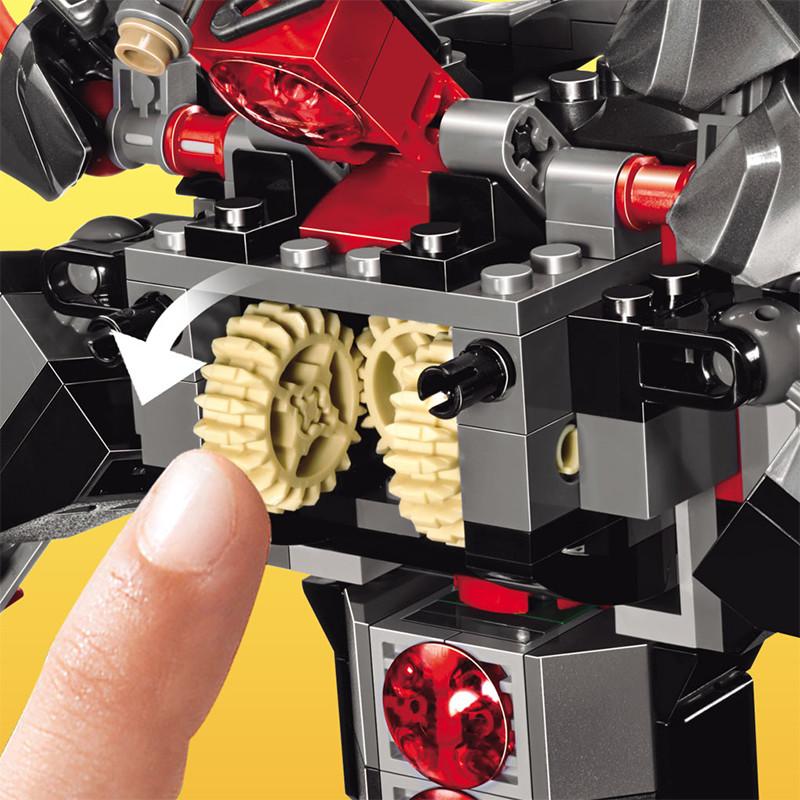 UKLego Ninjago VS Snake Boss Time Armour Snake Toy